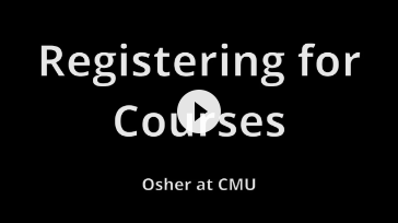 Osher at CMU Online Registration How-To Video